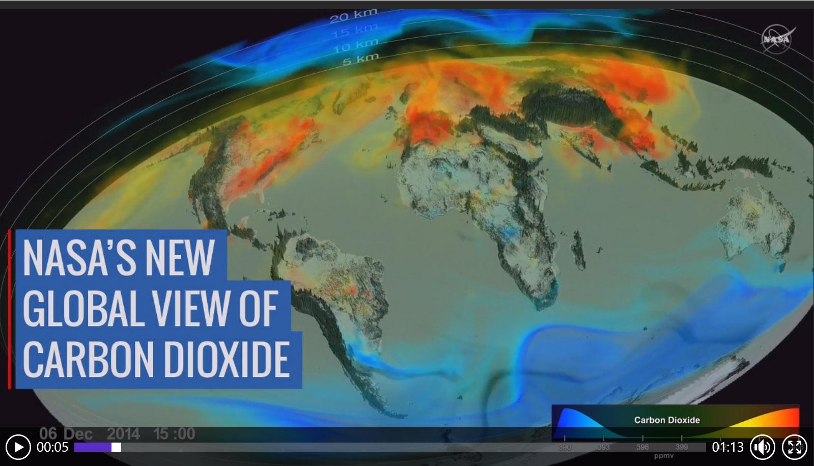 I dati del clima e delle emissioni serra a livello globale
